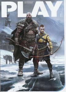 Play Playstation Magazine December 2021 God Of Ragnarok Limited Subscriber Cover