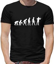 Evolution of Man Violinist Mens T-Shirt - Violin - Fiddle - Music - Instrument