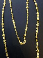 Beautiful Handmade Dubai Chain In Solid Certified 22K Yellow Gold - 25 Inches