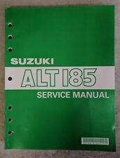 1990 Suzuki Alt185 Service Manual 99500-41060-01E