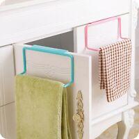 Bathroom Kitchen Towel Rack Hanging Holder Organizer Cabinet Cupboard Hanger