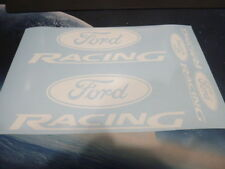 Ford Racing Emblems / Stickers / Decals -asstd, 4 total