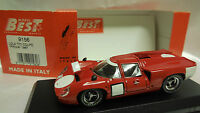 BEST 1/43 LOLA T70 COUPE' PROVA 1967 ART. 9156