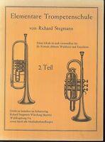 Richard Stegmann ~ Elementare Trompetenschule 2. Teil