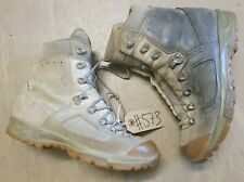 Original British Army Issue Leather Lowa Desert Combat Boots Size 7.5 UK #573