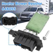 Heater Fan Blower Resistor For Citroen Berlingo Peugeot Partner MK2 6480.55 UK