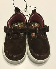 Corduroy Shoes Size 3 Baby Girl Mary Jane Brown Casual
