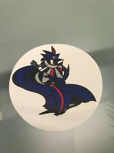 Go Kart - Captain Arrow Round Sticker - New