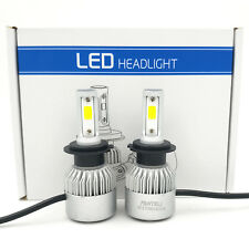 1080W 162000LM CREE LED Headlight Kit H7 6000K XENON White High Power Bulbs Pair
