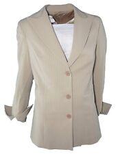 klandestine giacca donna beige righe 3 bottoni taglia it 44 l large