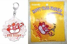 Happy Tree Friends Big Acrylic Key Chain Nutty #2 Gift Mondo Media Licensed New
