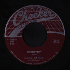 GENE BARGE: Country / Way Down Home 45 Blues & R&B