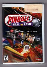 Pinball Hall of Fame: The Williams Collection - Nintendo Wii Brand New / Sealed