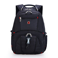 "Sw'iss Style Waterproof 17"" Laptop Backpack Business Travel Baggage School Bags"