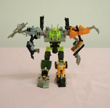 Transformers Power Core Combiners Steamhammer with Constructicons Hasbro