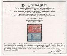 1925 Pubblicitari 60 c. Perugina dent. 13 3/4 x 13 3/4 MNH RARISSIMO ++++
