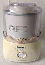 Cuisinart Frozen Yogurt Ice Cream and Sorbet Maker 1.5 Quart ICE-20