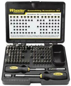 Wheeler 89 Piece Gunsmith Kit 562-194 Professional Grade Screwdriver Set