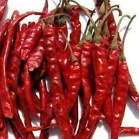 Pepper Chili Spices Seasonings Thai Premium Organic Sun Dried Red Hot 7oz (200g)