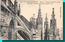 CARTOLINA 50 - LE MONTE SAINT-MICHEL abbaye - L'scalinata in pizzo in granito