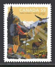 2011 Canada SC#2470i - Parks Canada Centennial - die cut from booklet M-NH