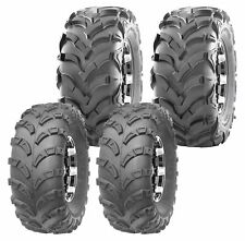 Set of 4 Wanda Atv Tires 23x7-10 23x7x10 Front & 24x11-10 24x11x10 Rear 6Pr