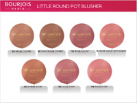 Bourjois Little Round Pot Blusher Compact Powder Built-in Mirror Healthy Blush