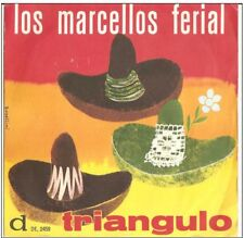 "Los Marcellos Ferial – Triangulo 45 GIRI 7"" NM/NM 1962"