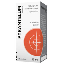 Pyrantelum Medana, 750mg/15ml - Pinworm Threadworm Parasites