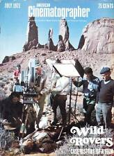 AMERICAN CINEMATOGRAPHER July 1971 - Filming Blake Edwards WILD ROVERS