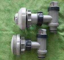 Anschluss-Set 38mm Intex Frame Easy Pool Pumpe Filterpumpe Absperrventil Hahn