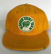 Rare Vintage Alberta Game Farm Foam Hat Cap Patch Logo Al Oeming's Animal Rescue