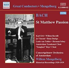 ohann Sebastian Bach - Bach: St. Matthew Passion [CD]