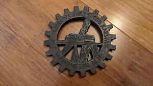 Cast Iron Cog Railway Trivet