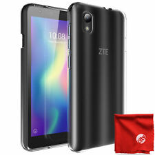 Tudia Ultra Thin Tpu Case Cover for Zte Quest 5 Cell Phone Td-Tpu4380 (Clear)