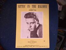 EDDIE COCHRAN - Sittin' In The Balcony  Repro USA Sheet Music