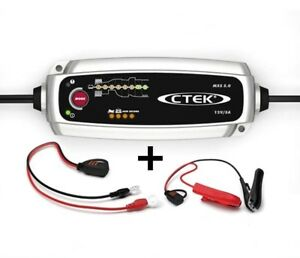 Chargeur batterie bateau camping car CTEK MXS 5.0 MXS5 12V de 1.2-100ah