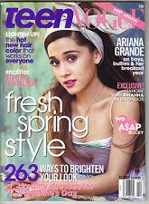 ARIANA GRANDE Teen Vogue Magazine 2/14 RIHANNA