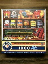 """Lionel Train Edition """"Well Stocked Shelves"""" 1000 Piece Jigsaw Puzzle ~ Complete"""