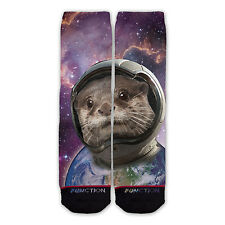 Function - Otter Space Fashion Socks Galaxy Earth Astronaut Funny Gift Outer all
