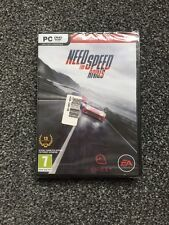 Need For Speed Rivals PC CD rom BRAND NEW AND SEALED Game NFS EA UK PAL