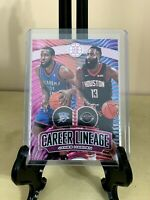 James Harden Pink SSP /25 - Panini Illusions Career Lineage!