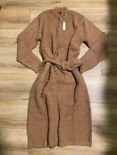 SKIMS Cozy Knit Robe Loungewear Camel color