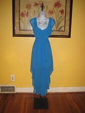 NWT  Arden B. Deep Sky Blue Hi-Lo Maxi Dress Size S
