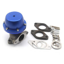 35MM/38MM TURBO CHARGER MANIFOLD BLUE 8 PSI COMPACT 2-BOLT EXTERNAL WASTEGATE