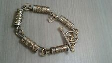 """DENNISON 14K STERLING bracelet , great condition,  25.2g, 7"""" long"""