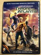 Justice League Throne of Atlantis (Dvd, Dc Universe, 2015) - G0412