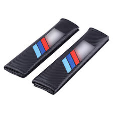 2stk Schwarz Stickerei Auto sitz Gurtpolster Schulterpolster passt für BMW