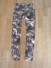 BNWOT ANIMAL PRINT FULL LENGHT THICK LEGGINGS BY TAPESTRY 8/10