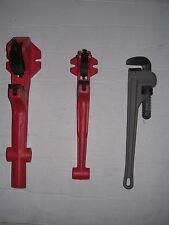 "New Two Foot Vise & Pipe Wrench 1/2""-2"" Rothenberger Collins Pony Pipe Threader"